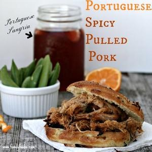 Portuguese Spicy Pulled Pork Sandwiches | Eat it | Pinterest