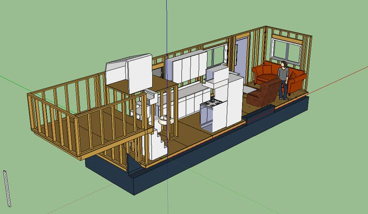 Tiny House Layout On Gooseneck Trailer Things I Like Pinterest