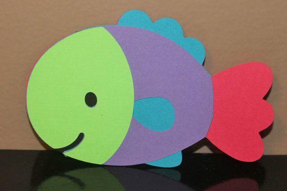 Cricut Fish Die Cuts Set Of 8