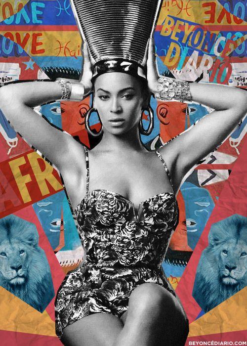 Beyonce in Batik Romper.