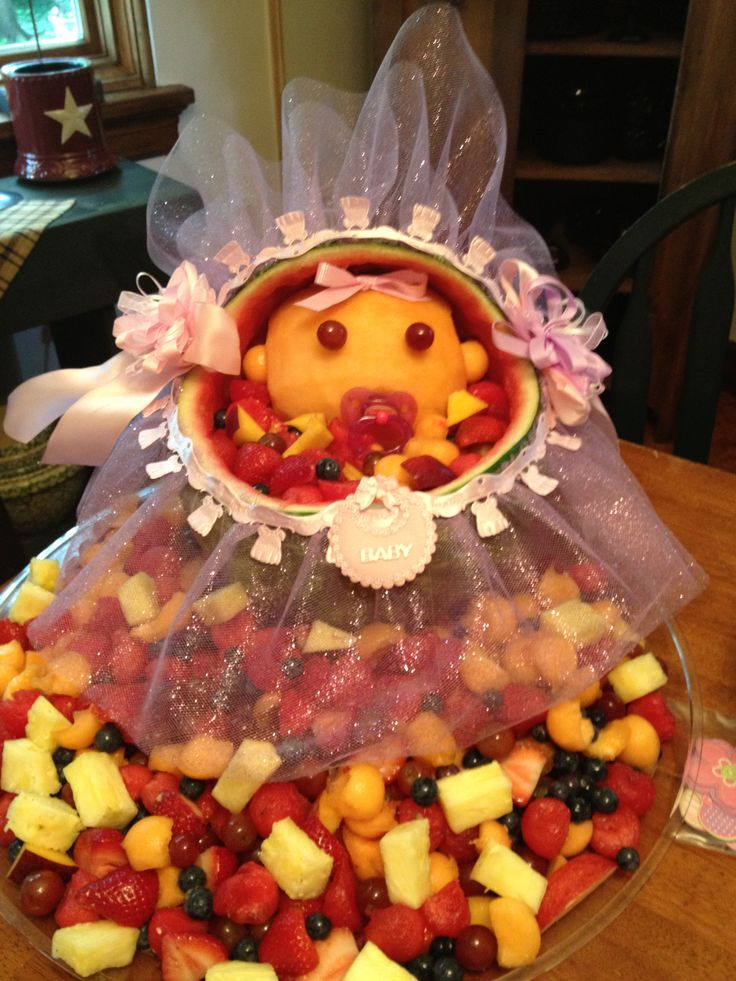 baby shower fruit bowl fruit vegetable nuts jerky pinterest