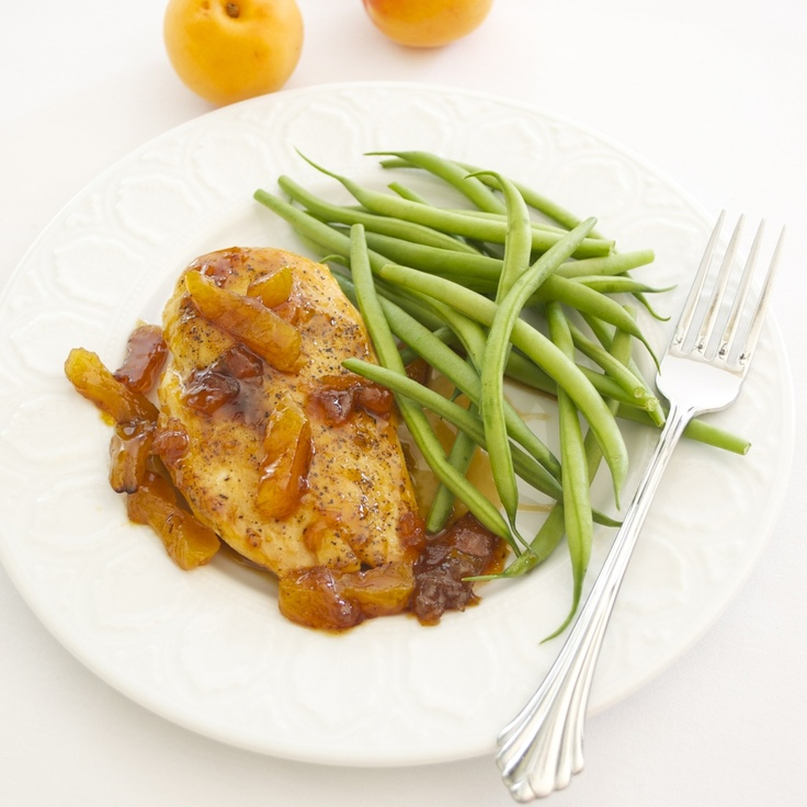 Apricot Glazed Chicken, absolute favorite!!!!! but with baby potatoes ...