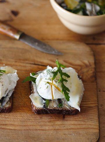 poached egg | prima colazione | Pinterest