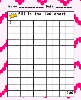 Hundreds Chart To 120