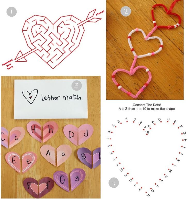 valentine activities grade 3