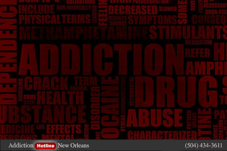 Drug addiction helpline New Orleans, Louisiana