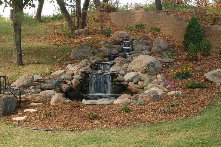 backyard waterfalls