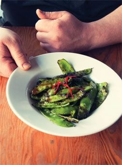 Grilled snow peas | Glorious sides | Pinterest