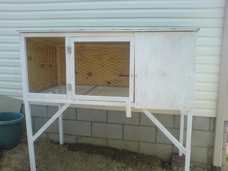 Diy rabbit hutch plans for Construire une cage a lapin exterieur