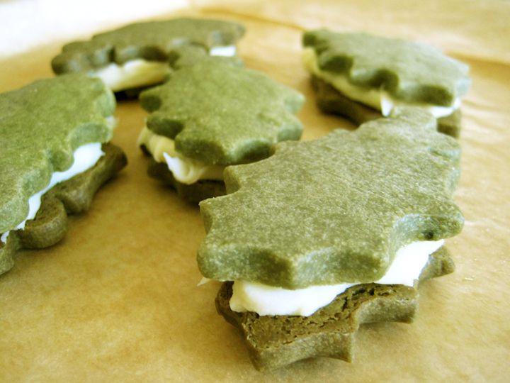 Green Tea Shortbread Cookies. regular non-shortbread version here ...