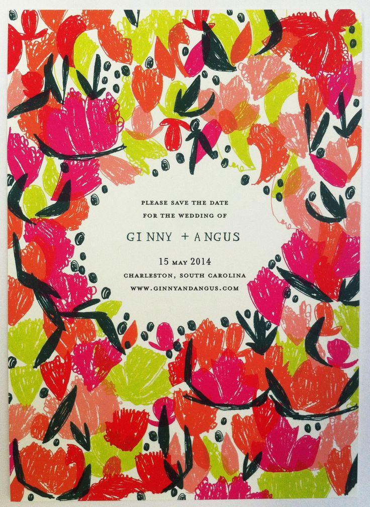 Mr. Boddington's Studio Poppy Save the Date