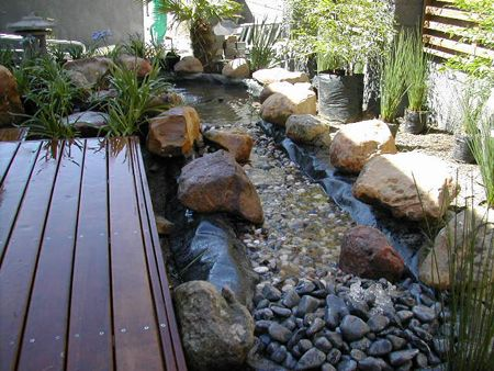Small River Bed Water Feature Garden Dreams Pinterest