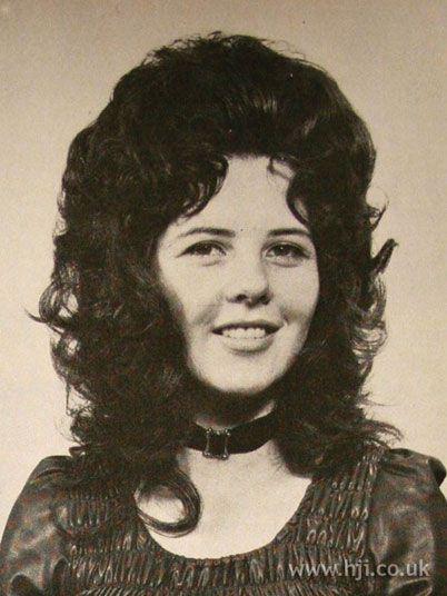 70s Gypsy Shag Hairstyle