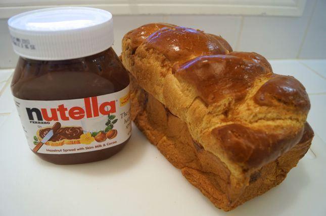 Nutella Bread Pudding   Favorite Recipies   Pinterest
