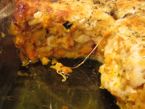 Paleo: Brown Butter Sage Roasted Winter Squash Sweet Potato Lasagna