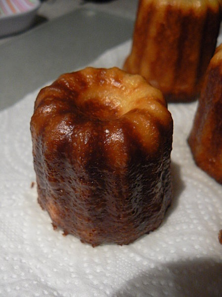 Cannelés de Bordeaux, my favorite!! | Cooking recipes | Pinterest