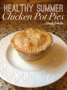 Healthy Summer Mini Chicken Pot Pies | Favorite Recipes Tried & True ...