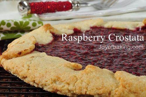 Raspberry Crostata Recipe   Crostata To Love   Pinterest