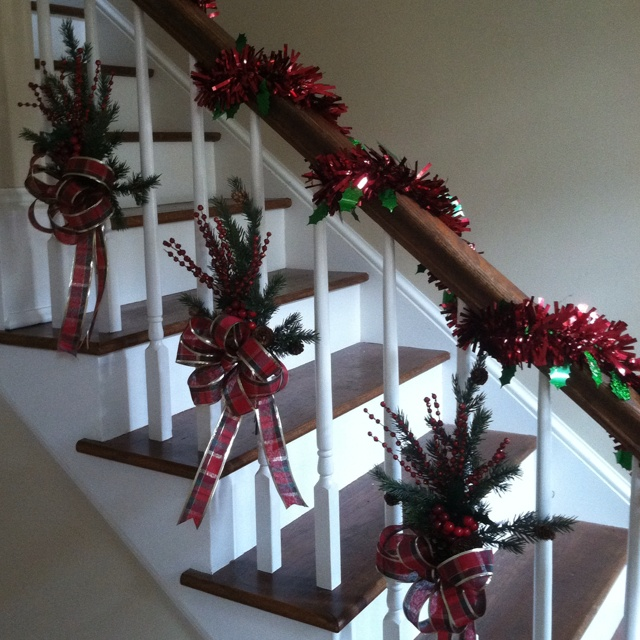 Holiday Railing 39 Tis The Season For The Most
