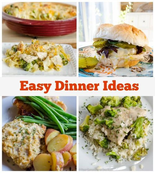 our easy dinner ideas from a family of four generations living