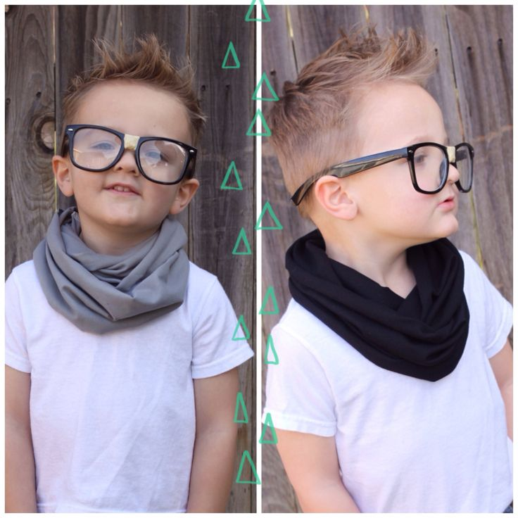Set of 2 HIPSTER Toddler Scarf Little Boy Baby by RichGirlRagsCo, $22.00