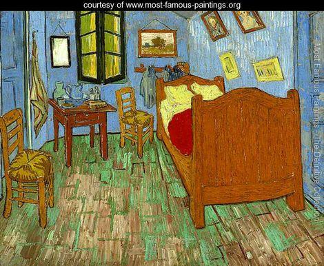 van gogh most famous painting the bedroom vincent van gogh www