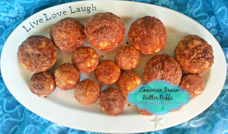 Breakfast muffins- cinnamon brown butter breakfast puffs. The browned ...