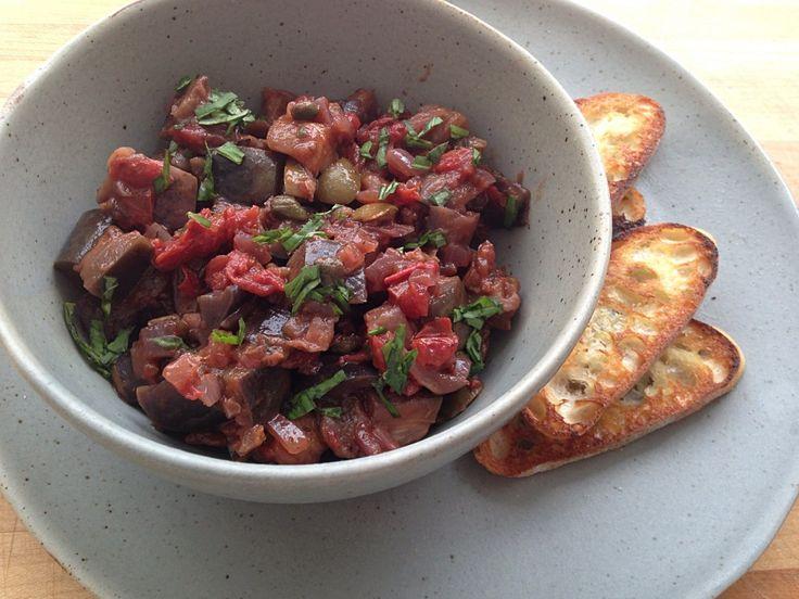 Eggplant Caponata | New Recipes to Try ... | Pinterest