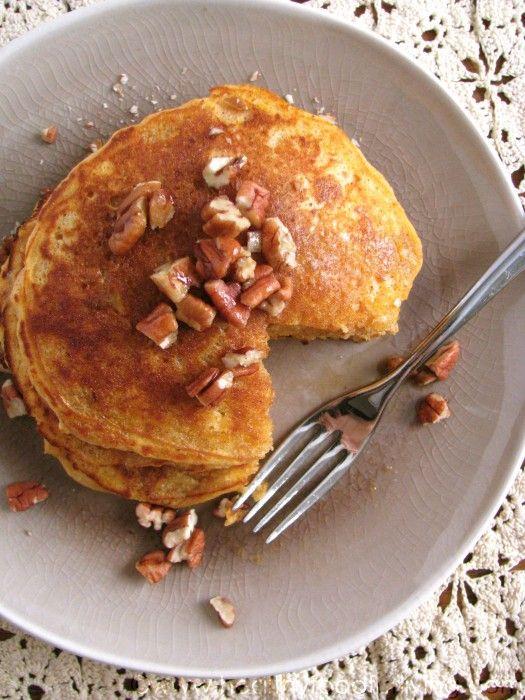 Sweet Potato Pie Pancakes | breakfast of champions | Pinterest