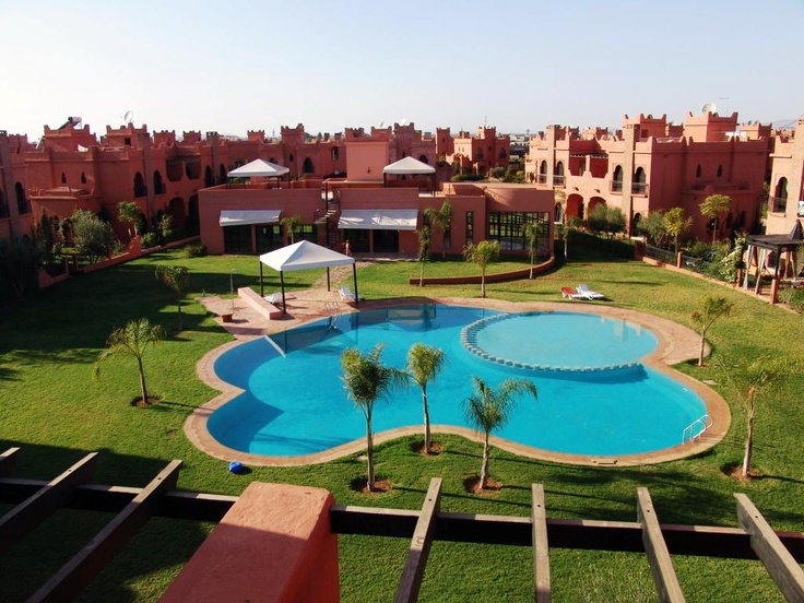 swimming pool garden city holiday villas marrakech
