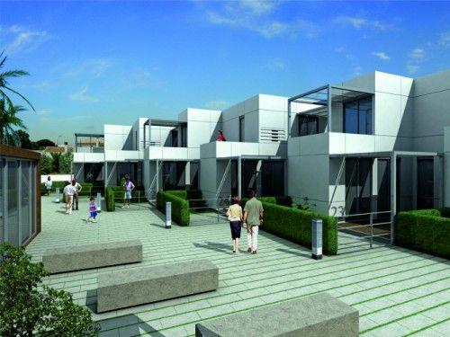 Pin by tucasamodular casas modulares on casas - Casas prefabricadas americanas en espana ...