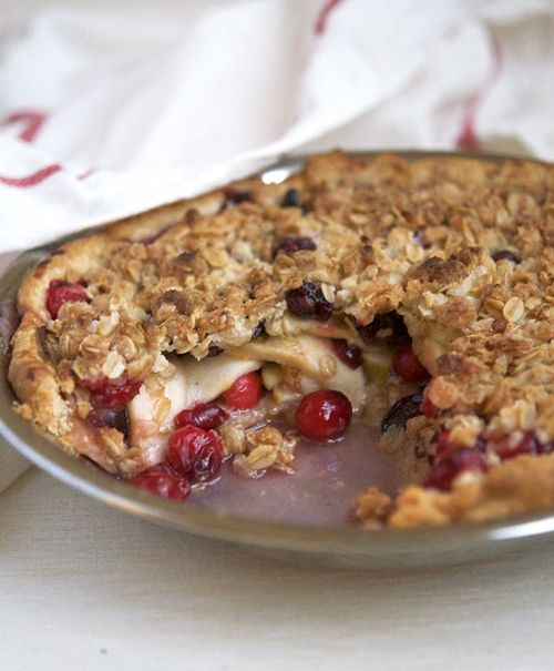 Apple-Cranberry Pie | Awesome Ideas | Pinterest