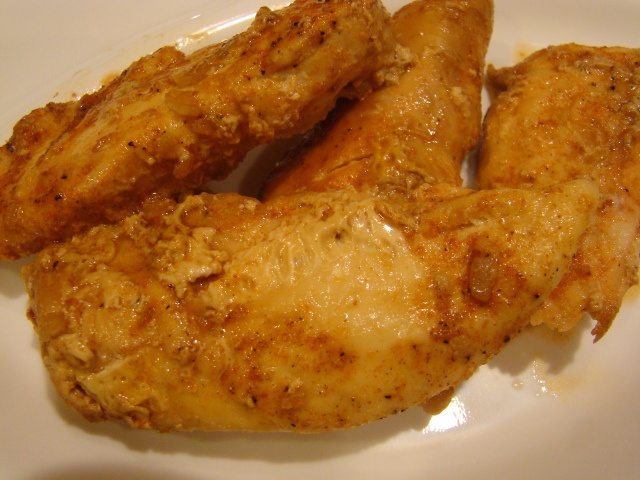 Crockpot spicy lemon chicken tenders | food | Pinterest
