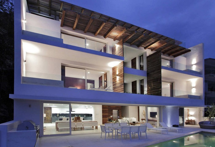 Contemporary Mexican Style House Architecture Pinterest