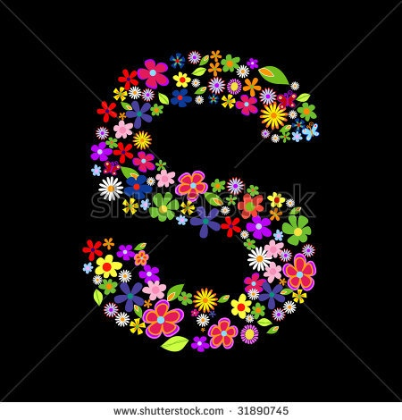 K Letter In Flower the letter - Google Search | Sheryl starts with an S, not a C | Pin ...