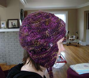 Free Crochet Ear Flap Patterns | HAT WITH EAR FLAPS PATTERNS - FREE