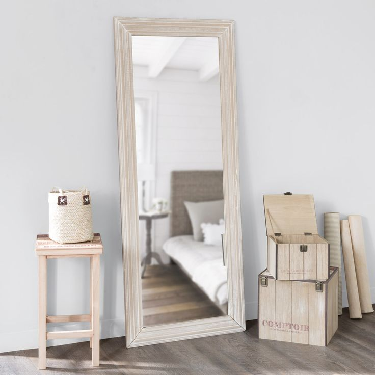 Miroir bois flotte maison du monde for Maison du monde 83 la garde