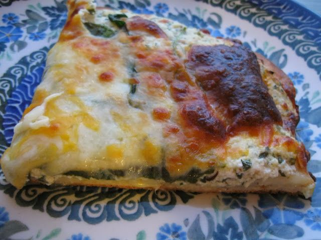 White Pizza with Ricotta and Spinach. | Hunger is the best sauce in t ...
