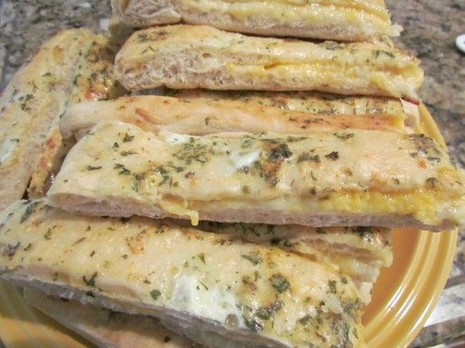 Cheese Filled Breadsticks | Bread Recipes | Pinterest