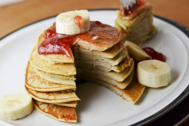 Cottage Cheese Banana Pancakes | Food | Pinterest