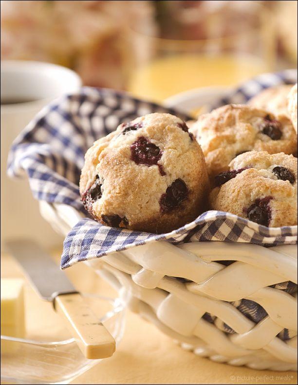 Cinnamon Swirl Blueberry Muffins - | Bread and rolls | Pinterest