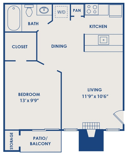 Pin by sarah wells on house floor plans pinterest 525 sq ft apartment