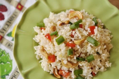 Cashew Nut Rice (Your Homebased Mom)