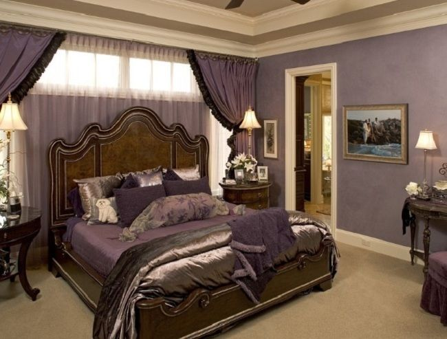 Most Romantic Bedrooms Prepossessing With Romantic Master Bedroom Traditional Photo