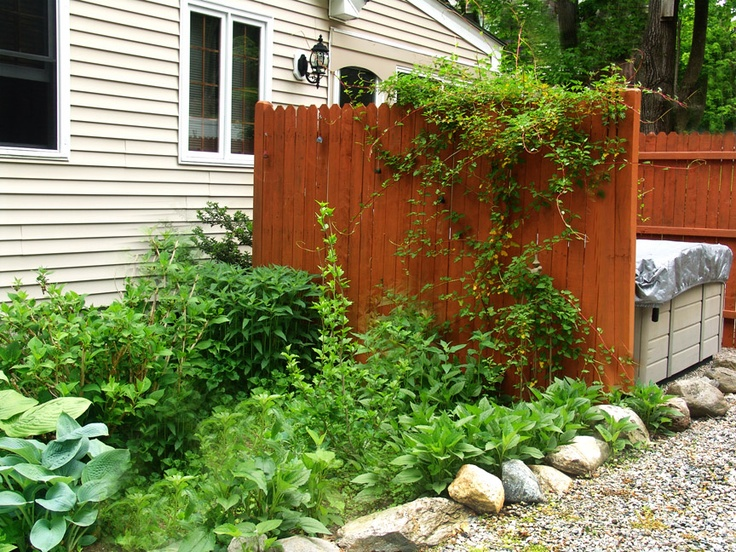Garden Hot Tub Garden Stuff Pinterest