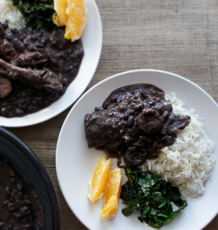 feijoada (brazilian black beans)---made this with Andy's parents. YUM ...