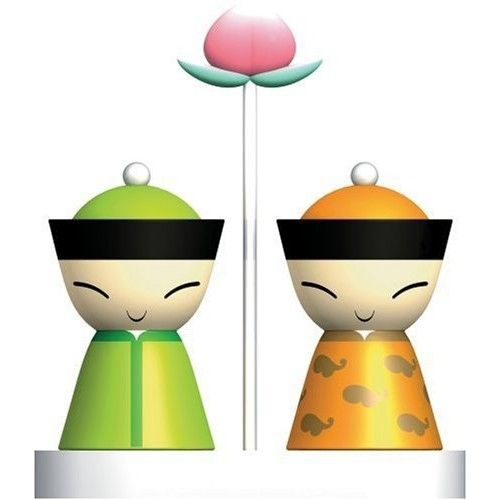 alessi salt and pepper shaker shakers pinterest
