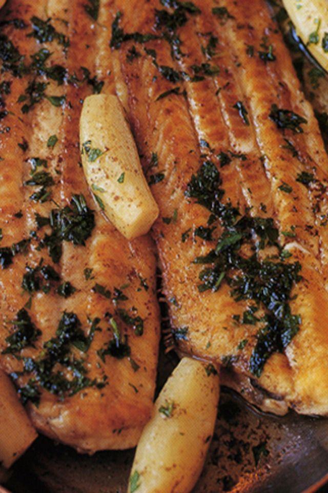 ... planos como son el gallo en este caso recetas de salmon a la meuniere