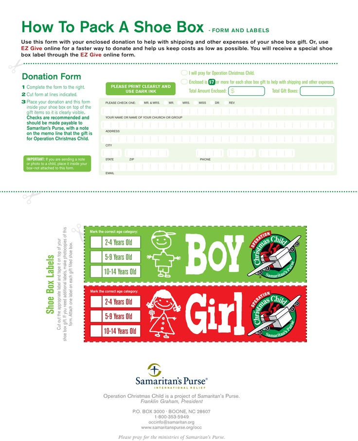 Pin by Carol Smith on Why I love Operation Christmas Child | Pinterest