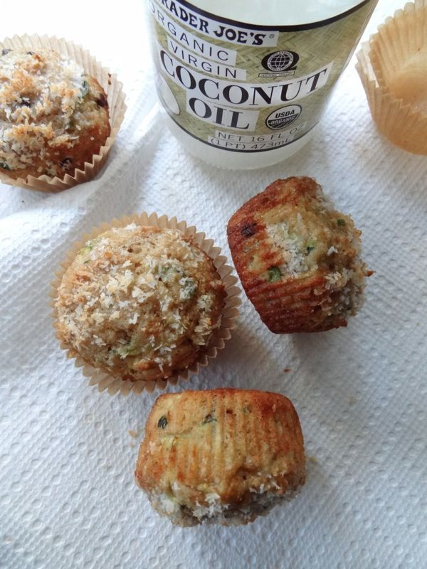 coconut zucchini muffins | food! (aka the never ending recipe dump ...